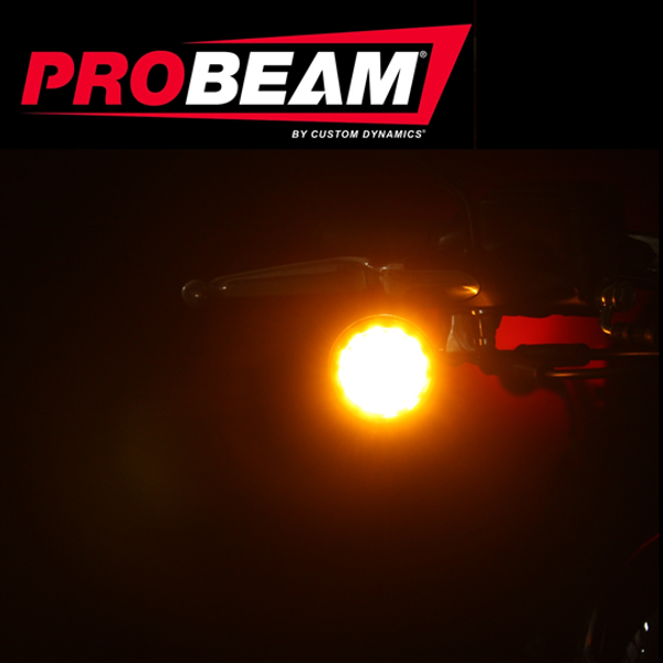 PROBEAM® AMBER LED TURN SIGNAL FOR INDIAN®