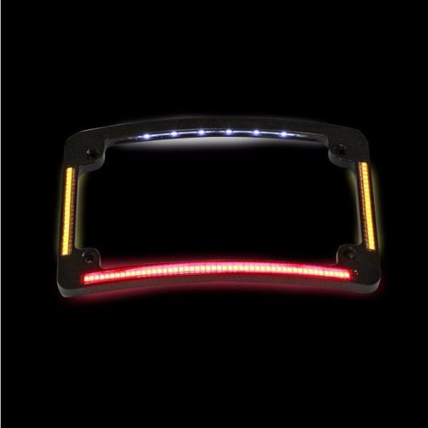 Plug & Play Radius Quad License Plate Frame