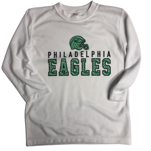 Tie Dye Eagles Long Sleeve (Youth)