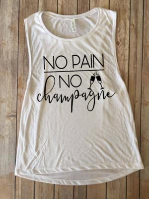 No Pain No Champagne...