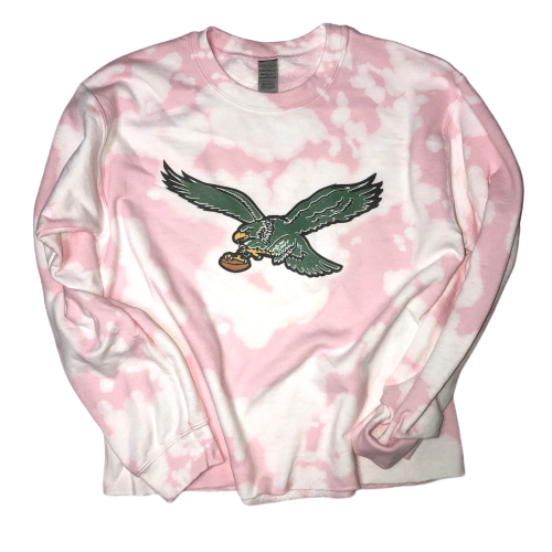Eagles Pink & White Sweatshirt