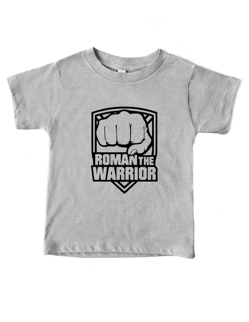 Kids T-shirt (Roman the Warrior)