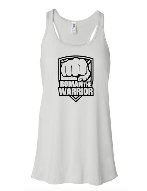 Women's Flowy Tank (Roman the Warrior)