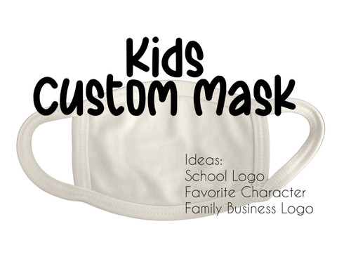 Kids Custom Mask