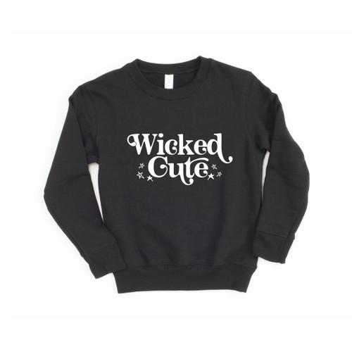 Wicked Cute Kid's Crewneck Sweatshirt