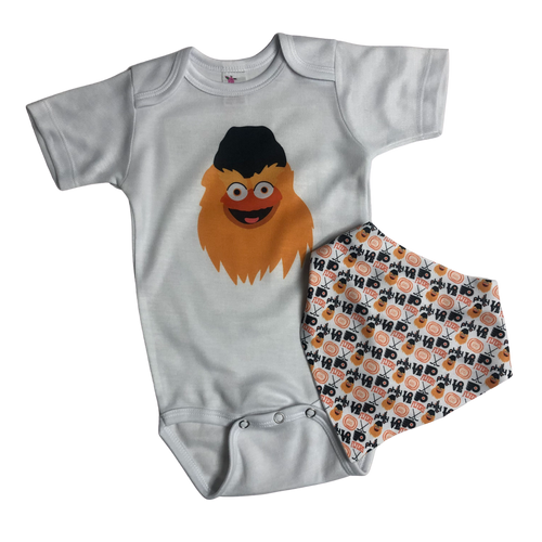 Philly Hockey Baby Set
