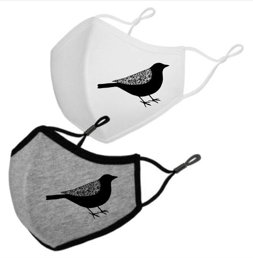 Blackbird Adult Face Mask