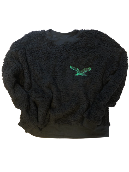 Embroidered Eagle Women's Sherpa (Adult)