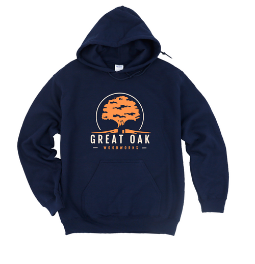 Unisex Hooded Sweatshirt (Great Oak Woodworks)