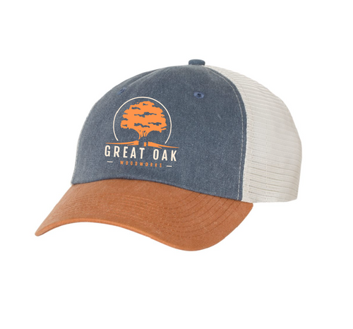 Mesh Back 2 Tone Hat (Great Oak Woodworks)