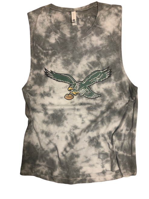 Eagles Tie Dye Muscle Tank