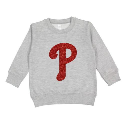 Glitter P Sweatshirt
