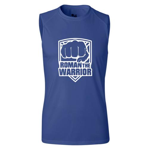 Unisex Performance Muscle Tank  (Roman the Warrior)