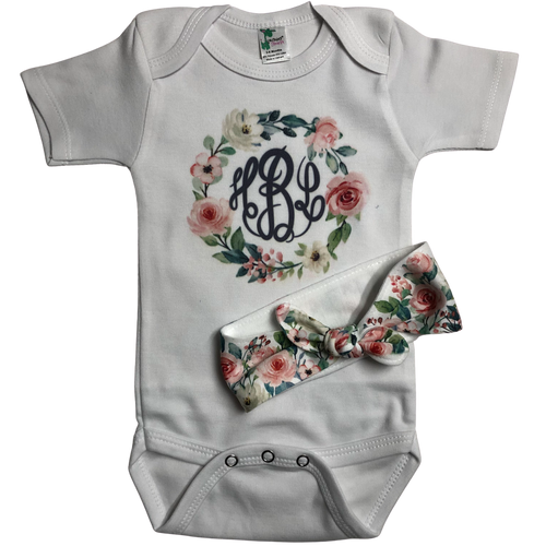 Floral Baby Set