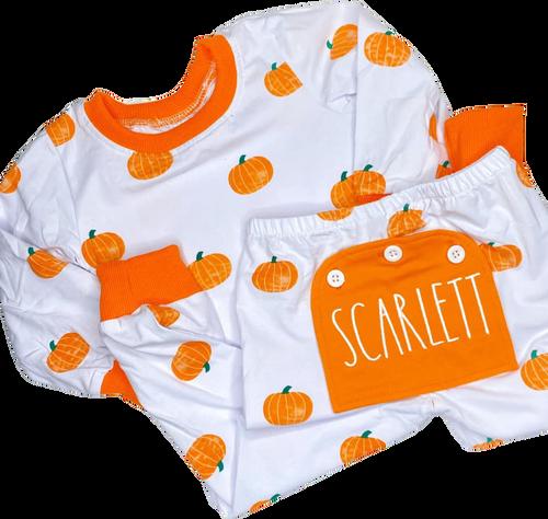 Pumpkin Pajama (Buttflap)