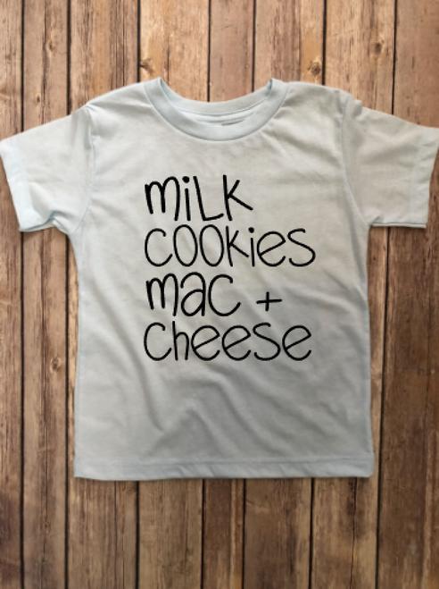 Milk, Cookies & Mac + Cheese...
