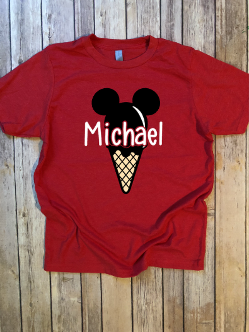 Mickey Ice Cream...