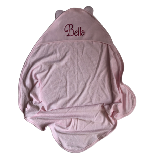 Embroidered Hooded Baby Towel