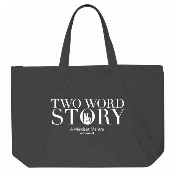 Two Word Story Tote