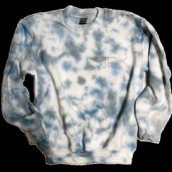 Sea Sky Tie Dye Monogrammed Sweatshirt