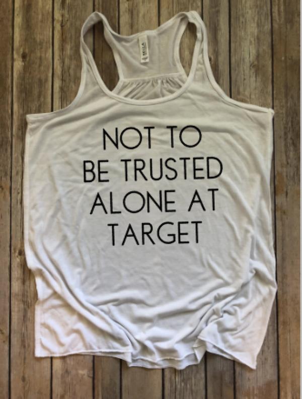 Alone at Target...