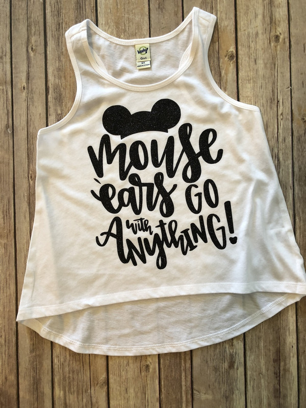 Mouse Ears go with Everything...