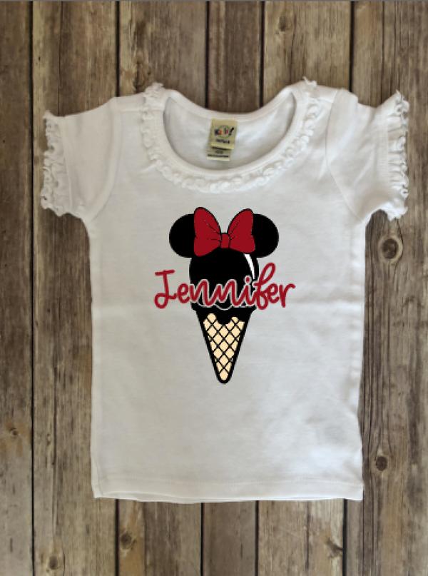 Minnie Ice Cream...