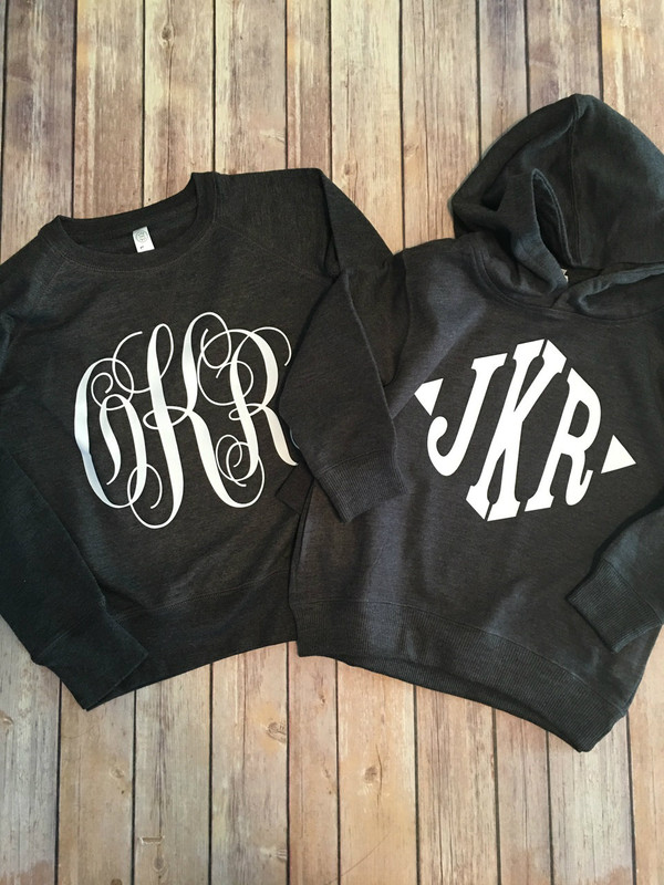 Initial Sweatshirts...