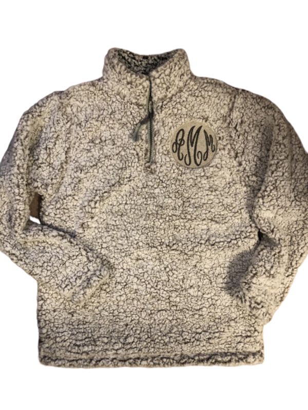 Embroidered Sherpa...