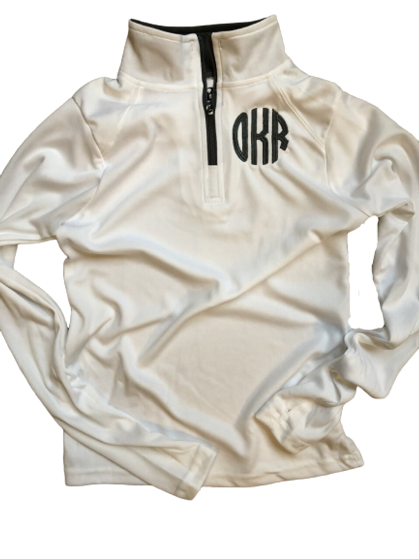 Wicking Embroidered 1/4 Zip..