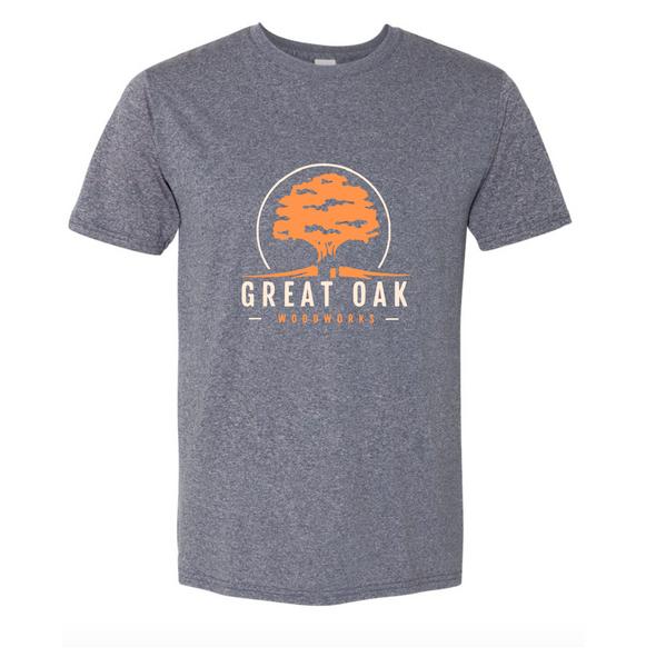 Heather Navy Unisex Sport Tshirt (Great Oak Woodworks)