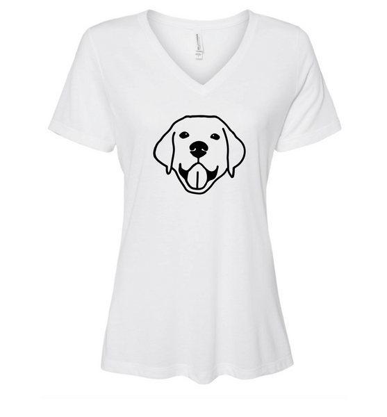 Pet Women's Relaxed Fit Vneck Tshirt