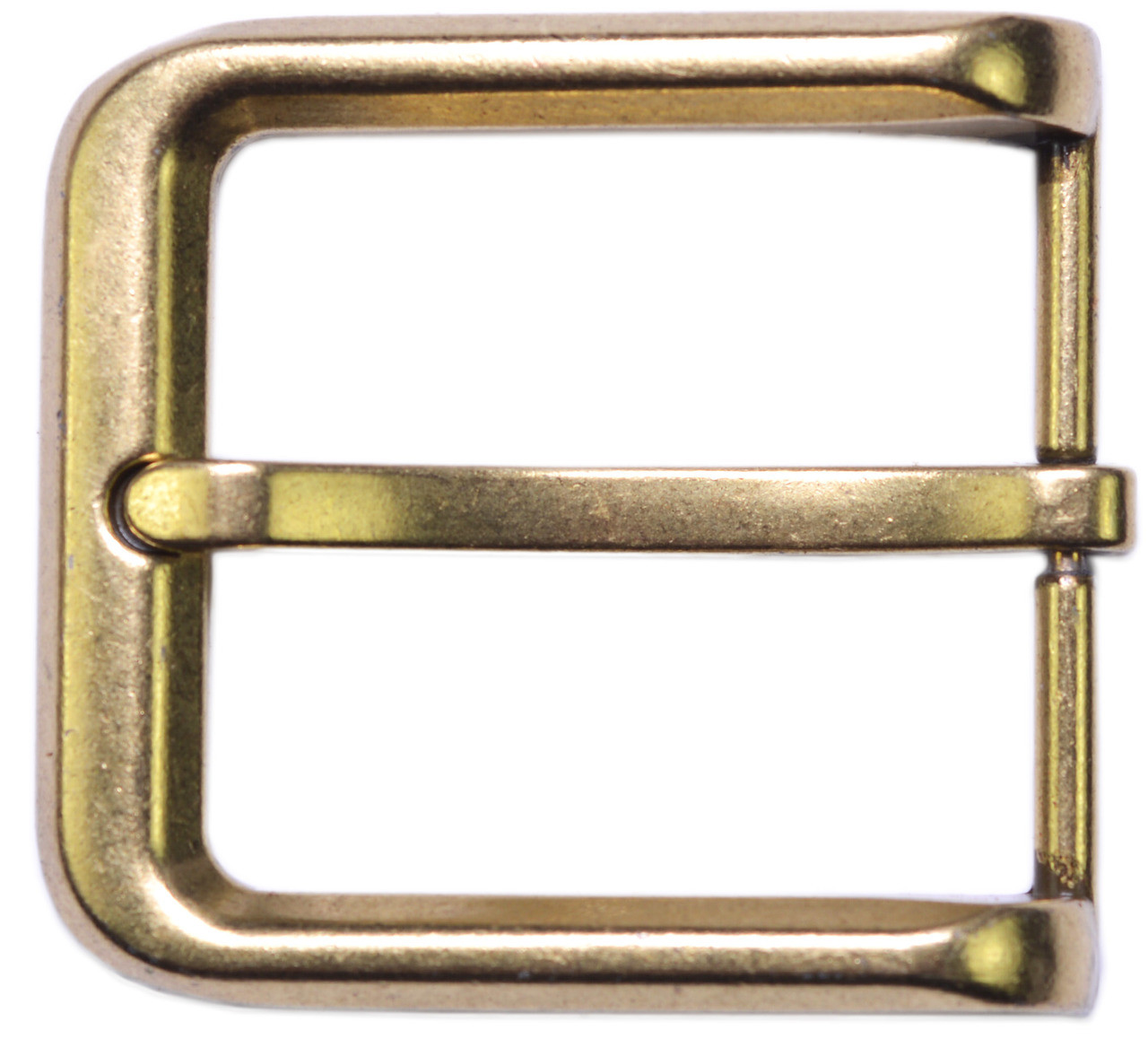 """The Belt Shoppe Silver Finish Pin Buckle Fits 1-1//2/"""" Belts"""