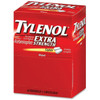 Tylenol Extra Strength Pain Reliever + Fever Reduce Caplets, 2 ct, 50 PACKS, 1 BOX
