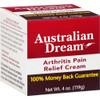 Australian Dream Arthritis Pain Relief Cream, 4 oz