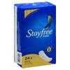 Stayfree Maxi Regular Pads, 24 ct, 6 Packs, 1 CASE
