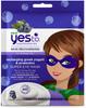 Yes To Super Blueberries for Stressed Skin Recharging Greek Yogurt and Probiotics Super Eye Mask, 4 PACKS