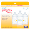 Simply Playtex Baby Bottles, Reduces Colic & Gas, 6 oz, 3 ct