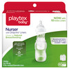 Playtex Drop-Ins System Baby Bottles, 4 OZ, 3 Ct (Contains 15 Disposable Liners)