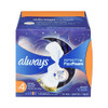 Always Infinity Flexfoam Overnight Pads with Wings, Unscented, 13 ct, 12 PACKS, 1 CASE