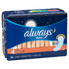 Always Maxi Overnight Pads without Wings, 28 ct, 6 PACKS, 1 CASE