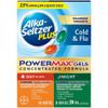 Alka Seltzer Plus Maximum Strength Power Max, Day + Night Cold & Flu Liquid Gels, 24 ct