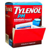 Tylenol PM Extra Strength Pain Reliever + Fever Reduce Caplets, 2 ct, 50 PACKS, 1 BOX