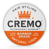 Cremo Barber Grade Natural Look, Light Hold, Low Shine Hair Styling Cream, 4 OZ