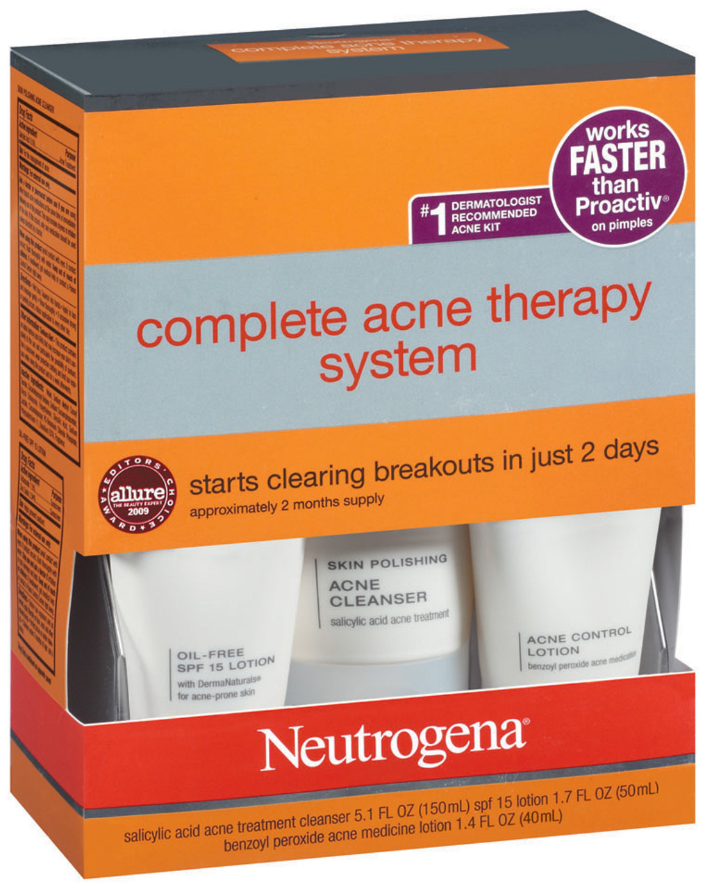 Neutrogena Advanced Solutions Complete Acne Therapy System Nationwide Campus