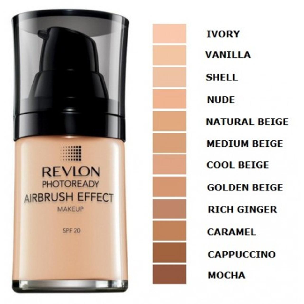 2 Pack - Revlon PhotoReady Airbrush Effect Makeup, Nude