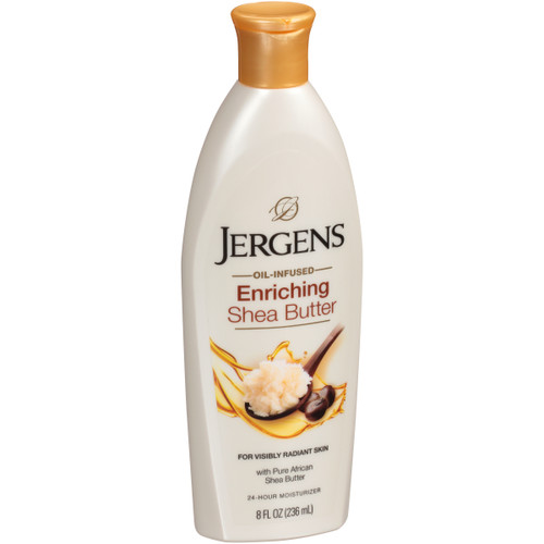 Jergens Shea Butter, Conditions & Enriches Deep Conditioning Moisturizer, 8 oz