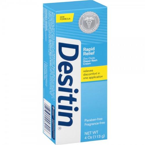 Desitin Daily Defense Zinc Oxide Diaper Rash Cream, 4 oz