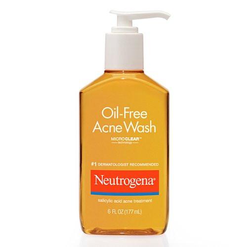 Neutrogena Oil Free Acne Wash, 6 Oz