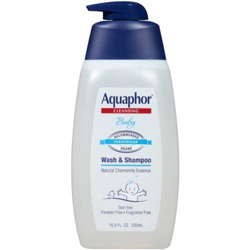 Aquaphor Baby Wash & Shampoo, 16.5 oz
